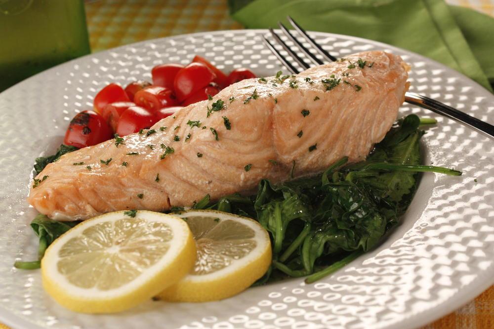 Heart Healthy Fish Recipes  Salmon Florentine