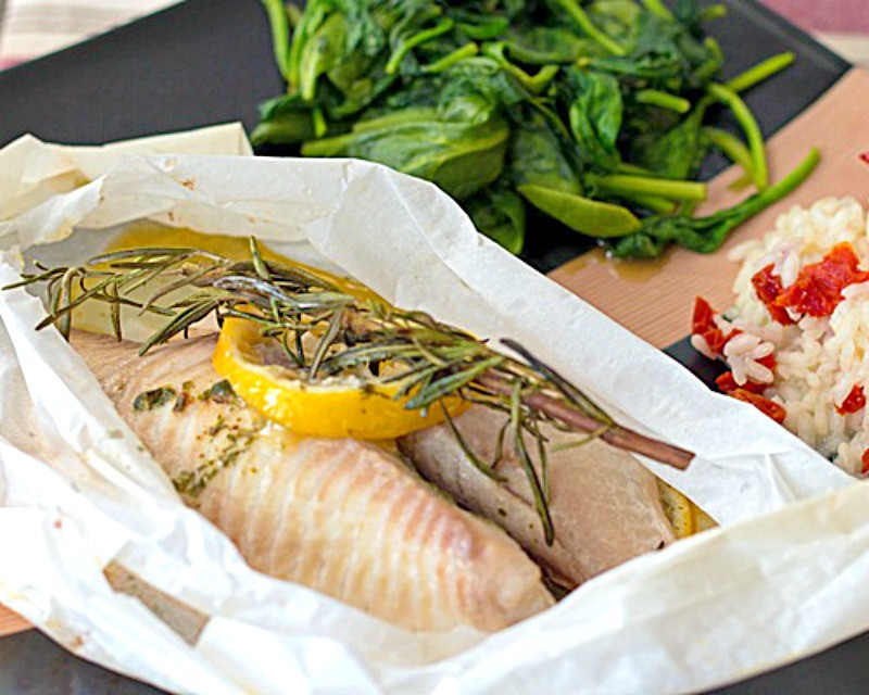 Heart Healthy Fish Recipes  Tilapia en Papillote Tilapia Baked in Parchment Low Carb