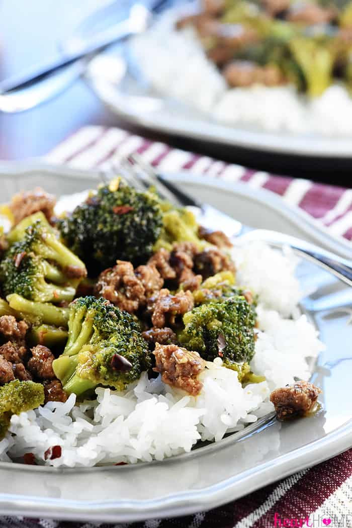 Heart Healthy Ground Beef Recipes  Ground Beef and Broccoli