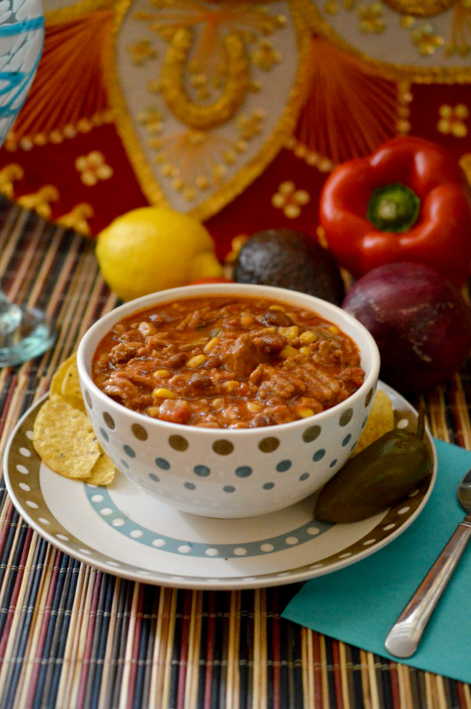 Heart Healthy Ground Turkey Recipes  Slow Cooker Fiesta Turkey Chili Recipe A Heart Healthy Meal