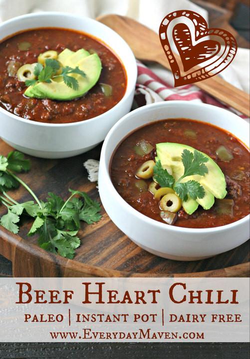 Heart Healthy Instant Pot Recipes  Instant Pot Beef Heart Chili
