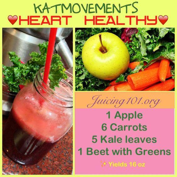 Heart Healthy Juice Recipes  Pinterest • The world's catalog of ideas