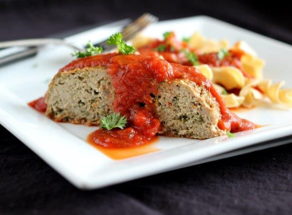 Heart Healthy Meatloaf  Italian Turkey Quinoa Meatloaf Rachel Cooks