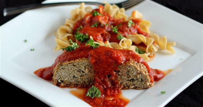 Heart Healthy Meatloaf  Heart Healthy Italian Turkey Quinoa Meatloaf