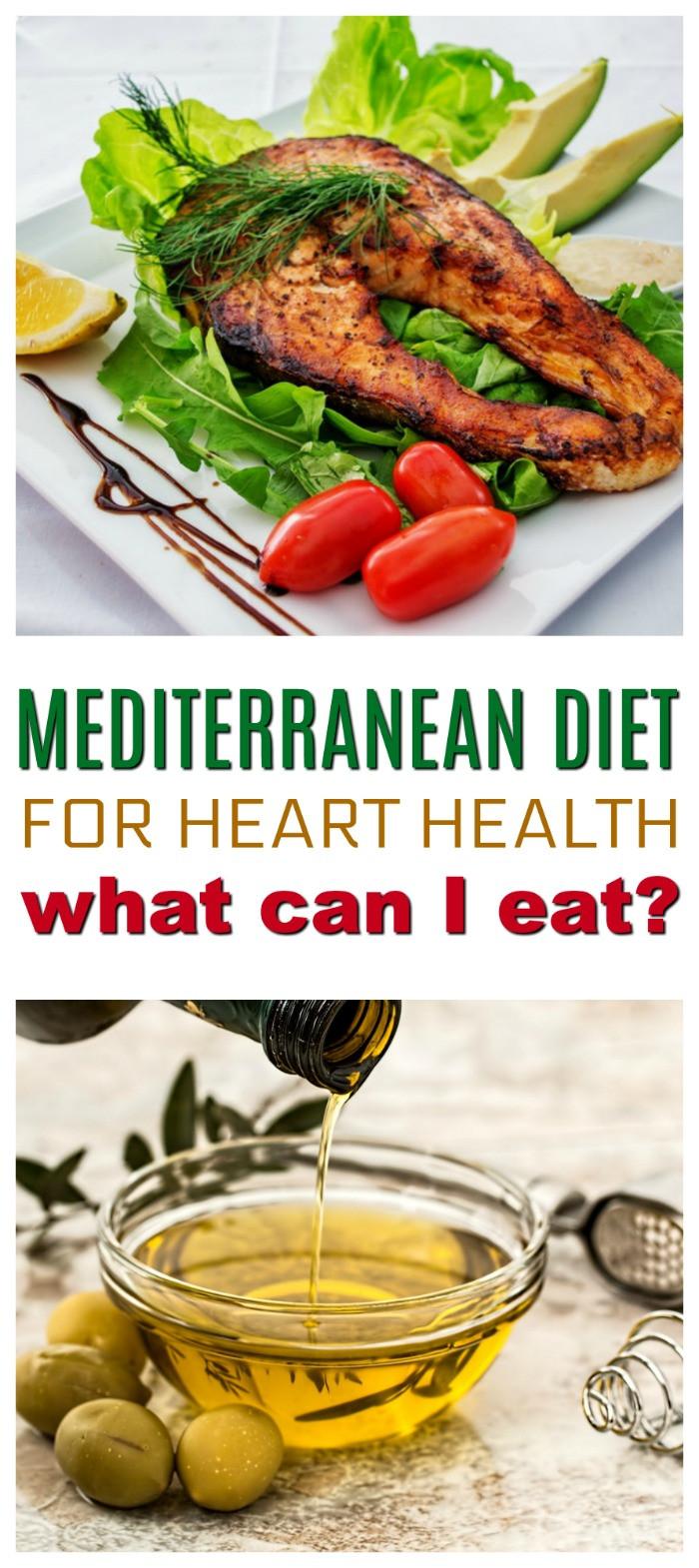 Heart Healthy Mediterranean Diet  How to Follow the Mediterranean Diet for Heart Health and