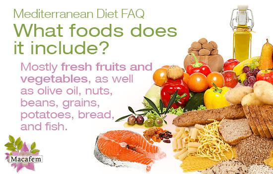 Heart Healthy Mediterranean Diet  Heart Healthy Choices Mediterranean Diet FAQs