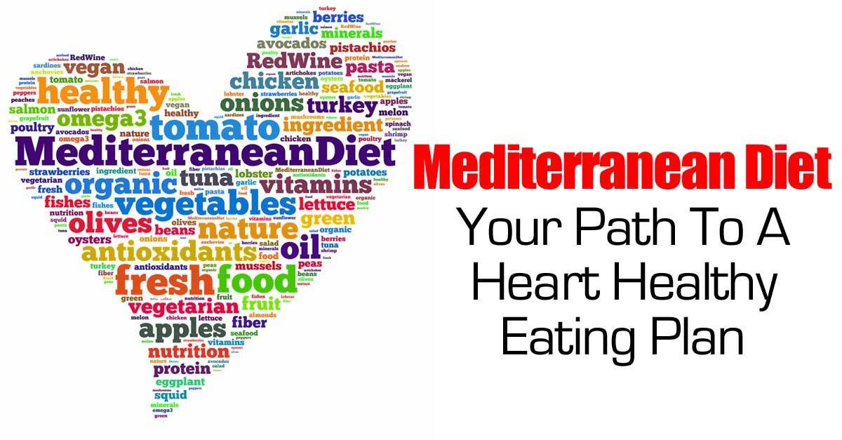 Heart Healthy Mediterranean Diet  Mediterranean Diet Your Path To A Heart Healthy Eating Plan