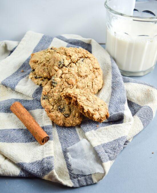 Heart Healthy Oatmeal Cookies  heart healthy oatmeal raisin cookies