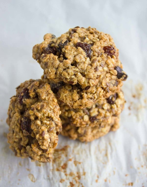 Heart Healthy Oatmeal Raisin Cookies  heart healthy oatmeal raisin cookies