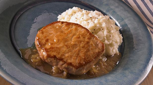Heart Healthy Pork Chop Recipes  Cauliflower Mash