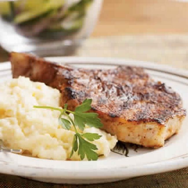 Heart Healthy Pork Chops  20 Minute heart healthy meals
