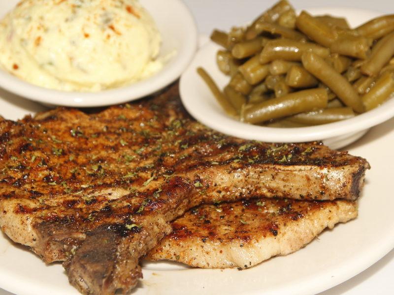 Heart Healthy Pork Chops  Heart Healthy Entrees