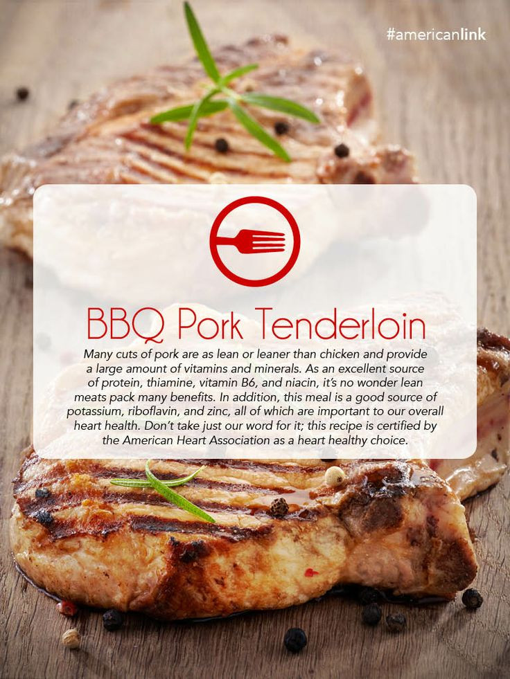Heart Healthy Pork Recipes  34 best Healthy eating images on Pinterest