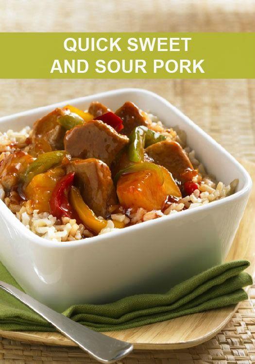Heart Healthy Pork Recipes  Quick Sweet and Sour Pork Recipe