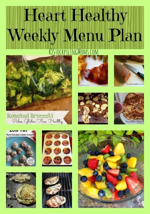 Heart Healthy Recipes For Diabetics  Best 25 Diabetic menu plans ideas on Pinterest