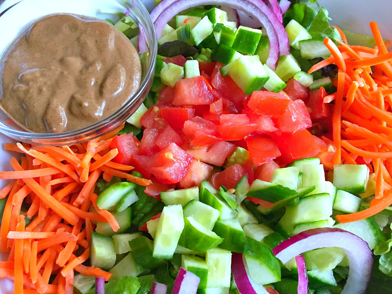 Heart Healthy Salad Dressing Recipes  Delicious Heart Healthy Salad with a Creamy Balsamic