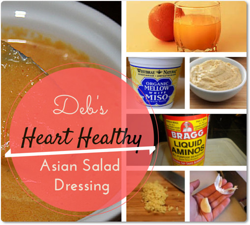 Heart Healthy Salad Dressings  Health & Wellness Education Blog