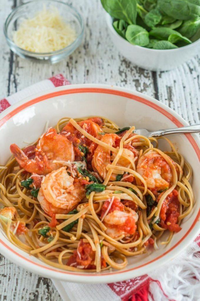 Heart Healthy Shrimp Recipes  Healthy Shrimp Fettuccine Recipe