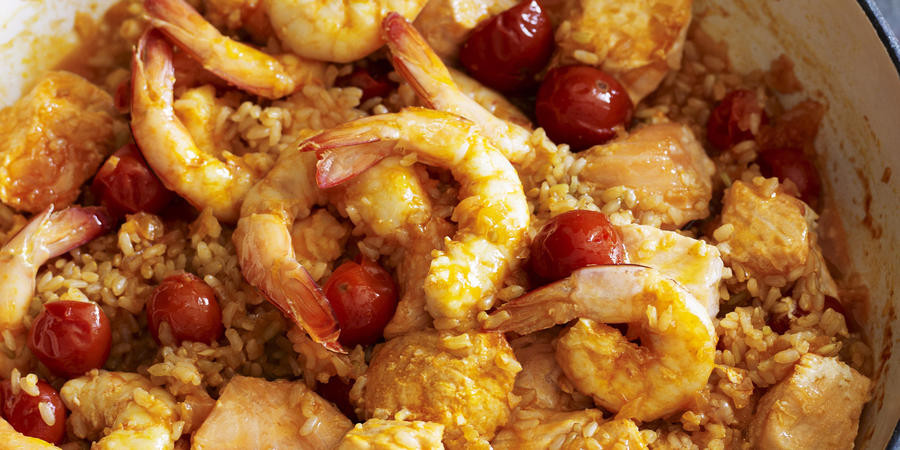 Heart Healthy Shrimp Recipes  Heart Healthy Seafood with Tomato Rice