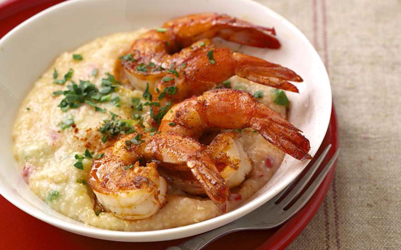 Heart Healthy Shrimp Recipes  30 Minute Heart Healthy Spicy Shrimp and Grits