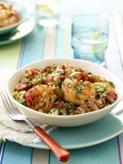 Heart Healthy Shrimp Recipes  Shrimp Jambalaya recipe from the American Heart