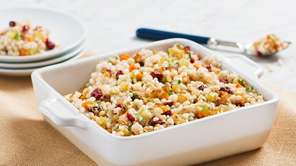 Heart Healthy Side Dishes  Cranberry Barley Pilaf