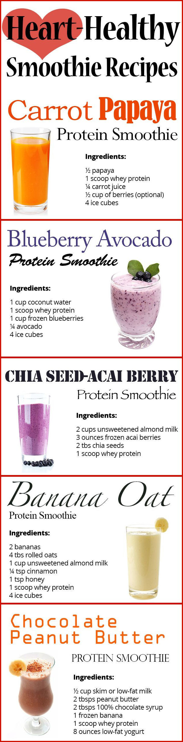 Heart Healthy Smoothies  Heart Healthy Smoothie Recipes s and