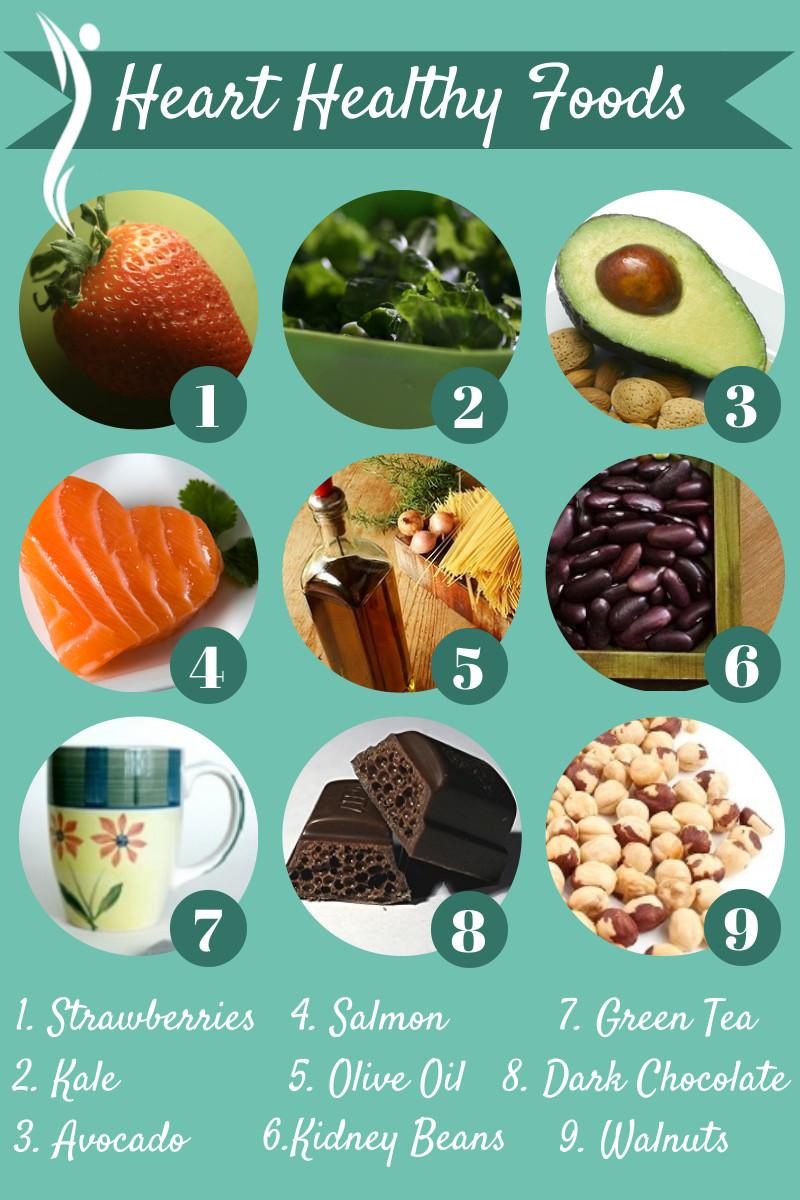 Heart Healthy Snacks  Top 10 Foods for Heart Health