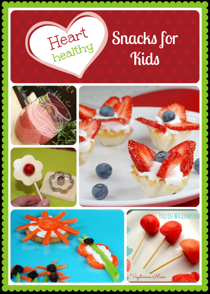 Heart Healthy Snacks On The Go  Heart Healthy Snacks for Kids Roundup Inner Child Fun