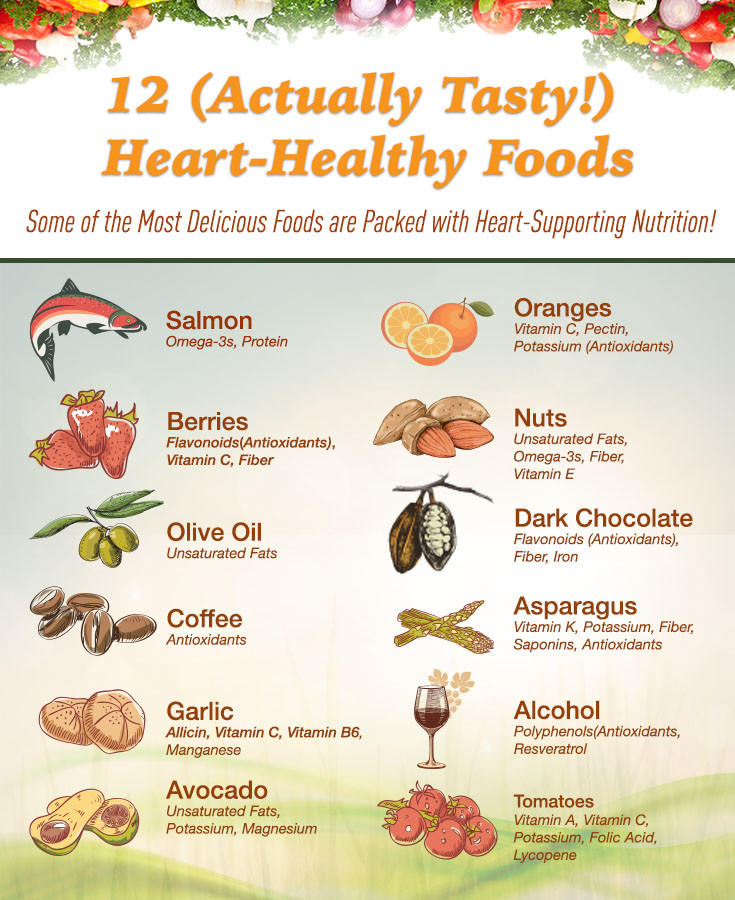 Heart Healthy Snacks  12 Heart Healthy Foods to Add To Your Diet