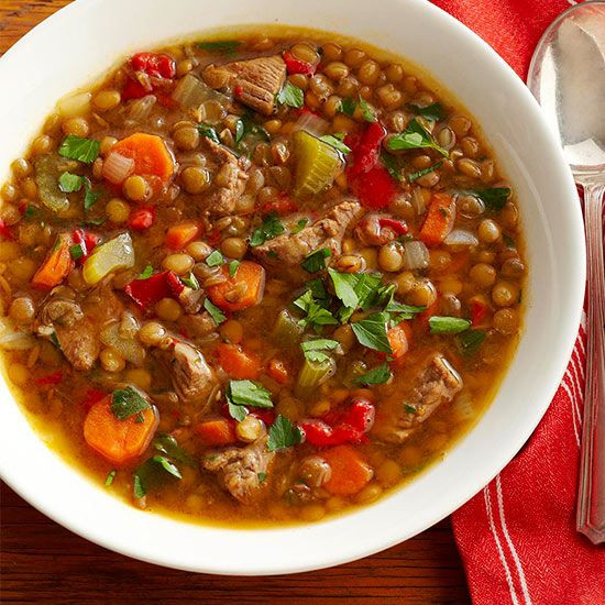 Heart Healthy Soups And Stews  Hearty Slow Cooker Soups Stews and Chilis