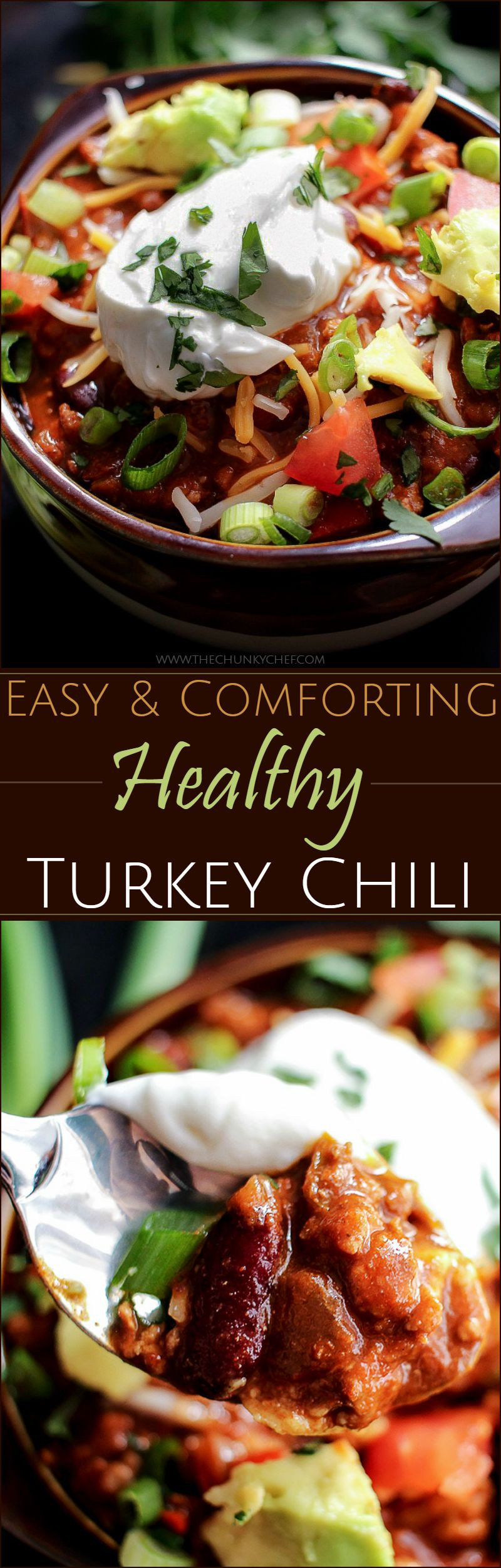 Heart Healthy Turkey Chili  Heart Healthy Turkey Chili The Chunky Chef