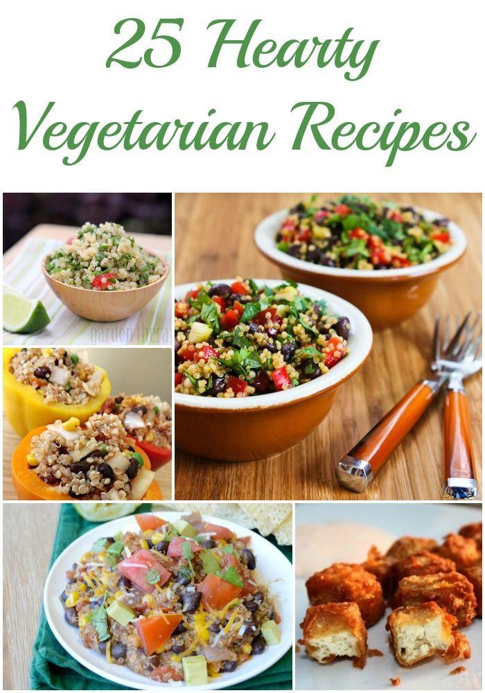 Heart Healthy Vegetarian Recipes  25 Hearty Ve arian Recipes