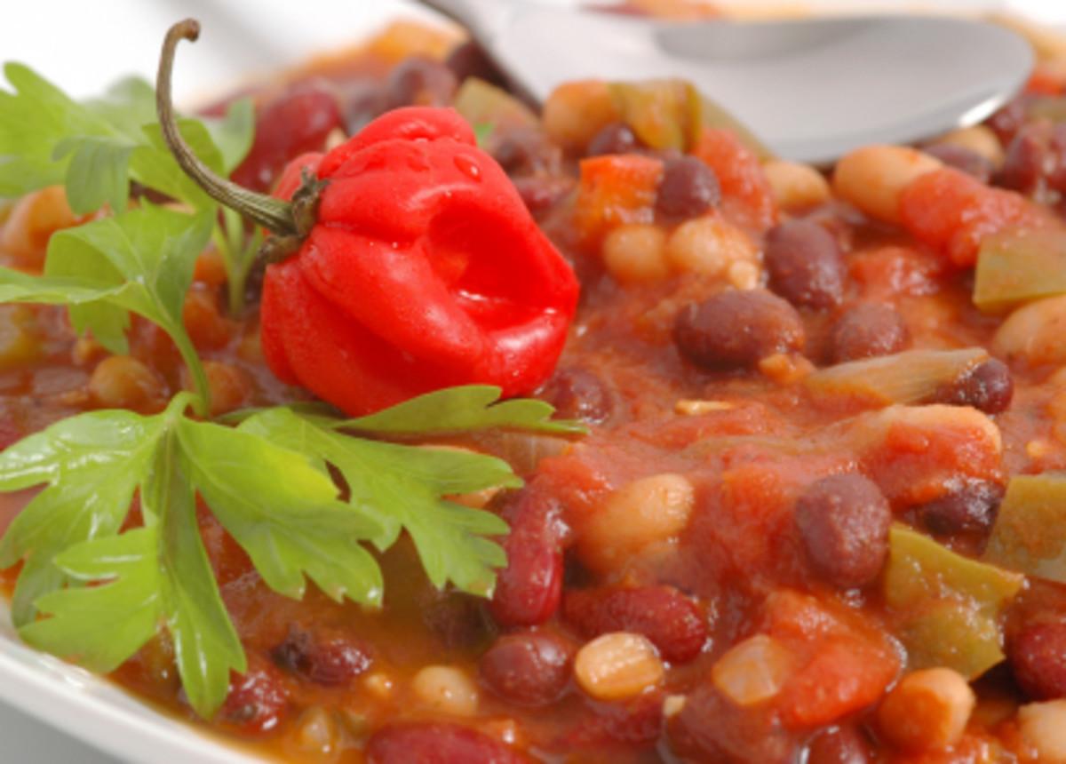 Heart Healthy Vegetarian Recipes  Heart Healthy Ve arian Chili Pressure Cooker Jamie