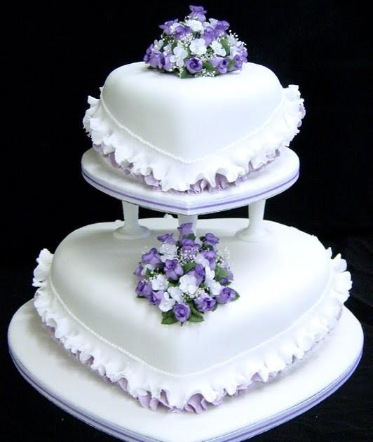 Heart Shape Wedding Cakes  Wedding Cakes Heart Shaped Wedding Cakes