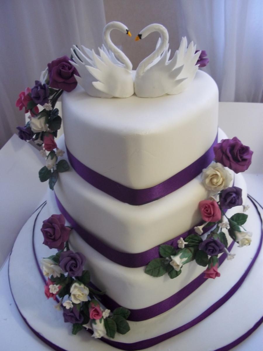Heart Shape Wedding Cakes  Heart Shaped Wedding Cake CakeCentral