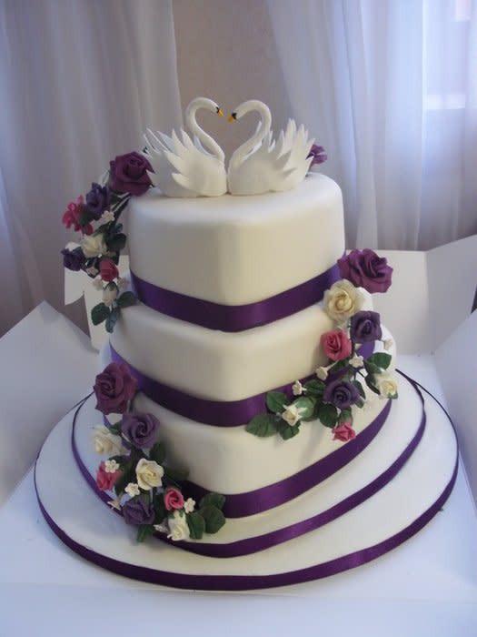 Heart Shaped Wedding Cakes  Heart Shaped Wedding Cake cake by Bev CakesDecor