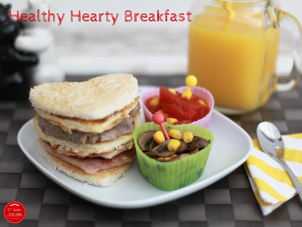 Hearty Healthy Breakfast  Healthy Hearty Breakfast with Regis Stone ET Speaks From