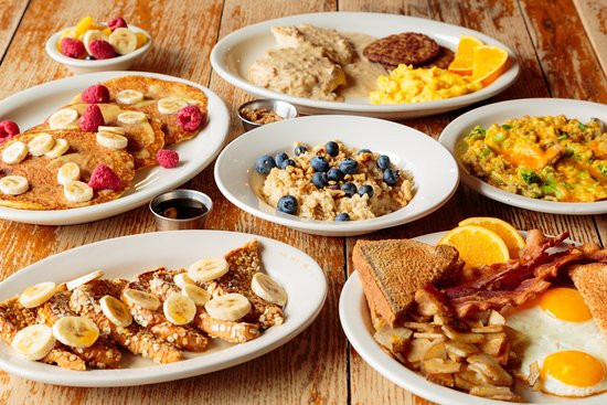 Hearty Healthy Breakfast  Hearty and healthy breakfast selections at the Bright