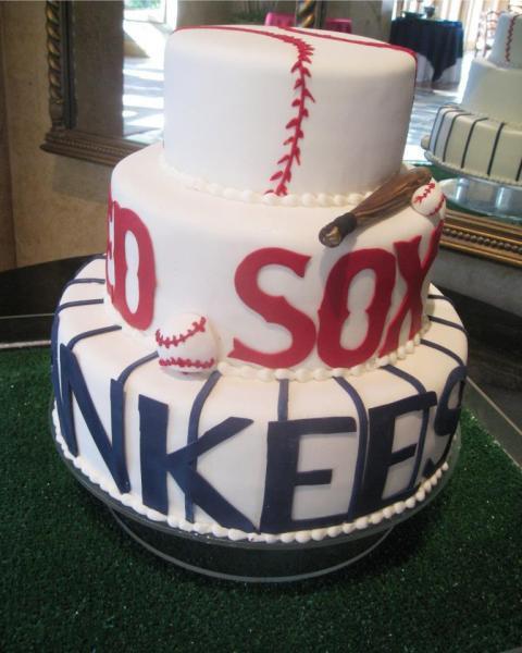 Heritage Wedding Cakes  Chicago White Sox Groom s Cake Wedding Cakes