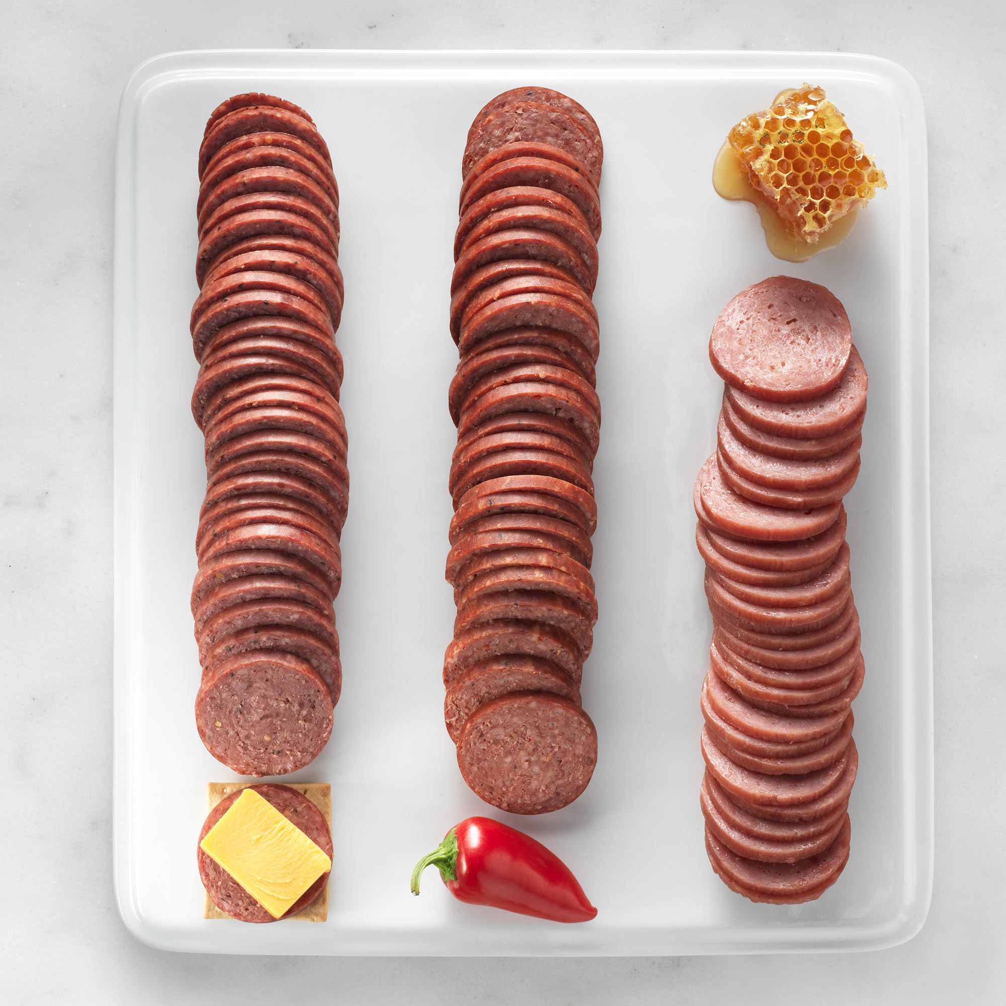 Hickory Farms Beef Summer Sausage  Hickory Farms Summer Sausage Flight