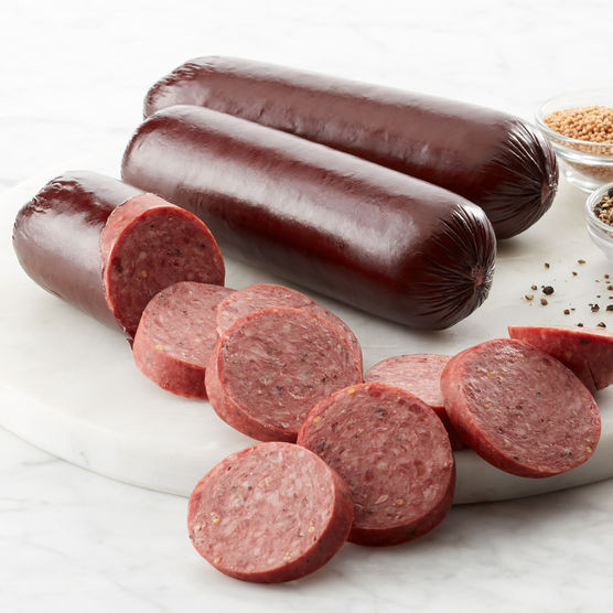 Hickory Farms Beef Summer Sausage  Signature Beef Summer Sausage