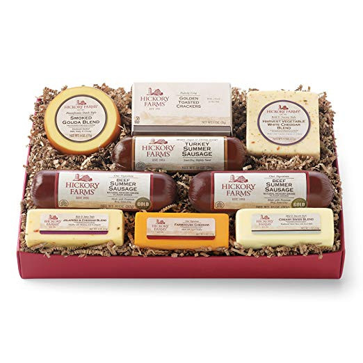 Hickory Farms Turkey Summer Sausage  The Nicest Valentines Day Gift Baskets for Men Gift Canyon