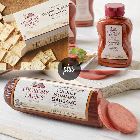 Hickory Farms Turkey Summer Sausage  Turkey Sausages