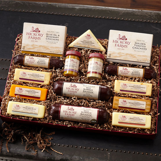 Hickory Farms Turkey Summer Sausage  Best Friends Gift Box