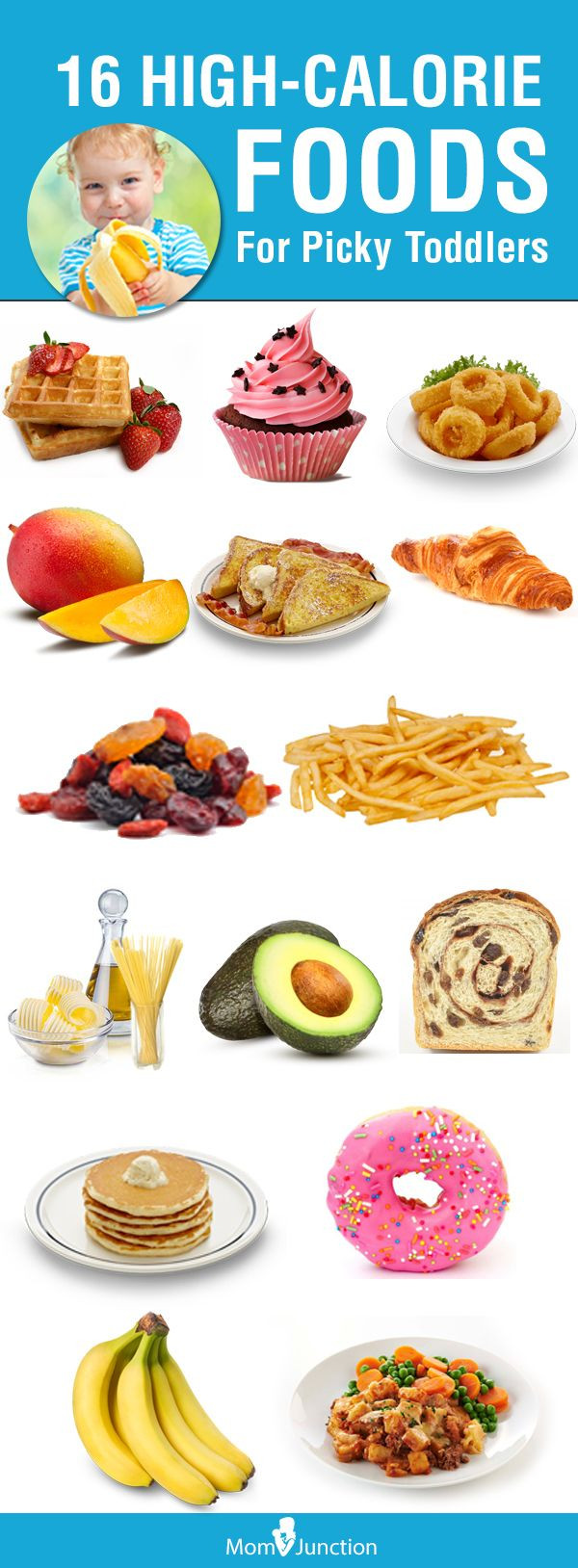 High Calorie Healthy Snacks  16 Great High Calorie Foods For Toddlers