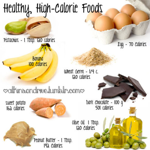 High Calorie Healthy Snacks  high calorie foods