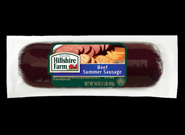 Hillshire Farms Beef Summer Sausage  Beef Summer Sausage