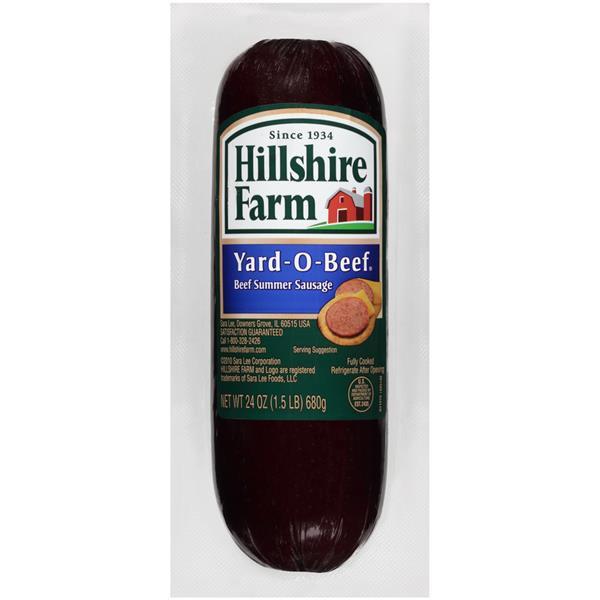 Hillshire Farms Beef Summer Sausage  Hillshire Farm Yard O Beef Summer Sausage