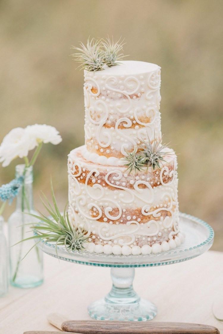 Hippie Wedding Cakes  Boho Beach Wedding Inspiration KnotsVilla
